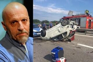 L'attore Paolini condannato ad un anno di reclusione per l'incidente mortale in A4