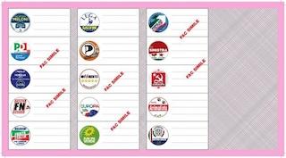 Elezioni europee, i candidati della circoscrizione Isole