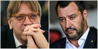 """Guy Verhofstadt sfida Matteo Salvini a dibattito: """"Elettori devono sapere i suoi piani diabolici"""""""