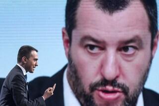 """Matteo Salvini: """"Troppa sintonia tra Cinque Stelle e Pd, spero M5s non abbia cambiato idea"""""""