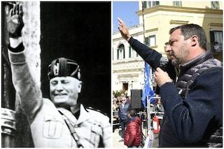 Studenti paragonano Matteo Salvini a Mussolini in una scuola di Palermo, professoressa sospesa