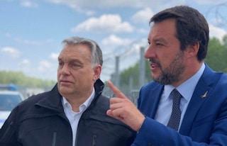 """Orban scrive a Salvini: """"Caro Matteo non dimenticheremo i tuoi sforzi contro i migranti illegali"""""""