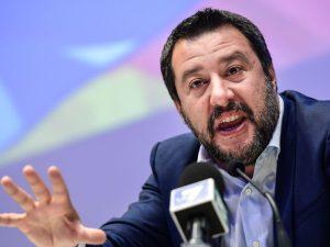 In foto: Matteo Salvini.