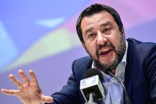 """Matteo Salvini: """"Non riaprirò i porti e l'Iva non aumenterà, dovessero passare sul mio cadavere"""""""
