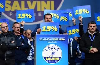 """Matteo Salvini: """"Non chiederò poltrone in più dopo il 26 maggio, ma pretendo la flat tax"""""""
