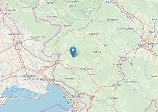 Terremoto nella notte tra Italia e Slovenia: scossa di 3.3 vicino Gorizia
