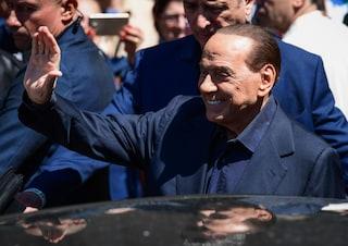 """Elezioni europee, Silvio Berlusconi: """"Dopo il voto è pronto il governo di centrodestra"""""""