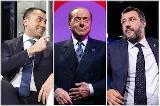 """Silvio Berlusconi: """"Il declino di Matteo Salvini è iniziato, Luigi Di Maio mi ricorda Hitler"""""""