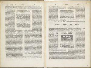 Il Talmud babilonese (o semplicemente Talmud) è il testo sacro ebraico redatto tra il III e il V secolo e composto da 63 trattati.