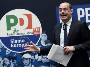 In foto: Nicola Zingaretti.
