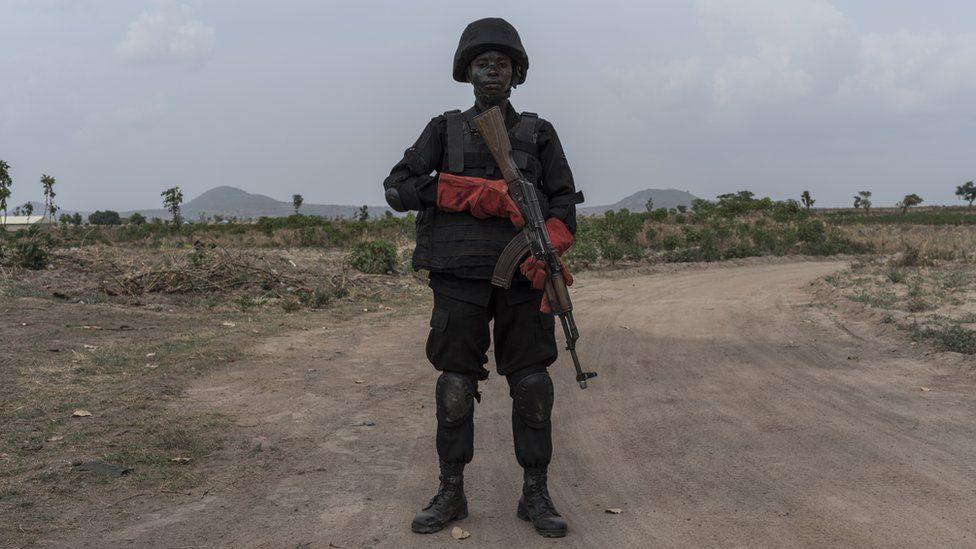 Il governo nigeriano ha schierato 1000 soldati per rispondere alla minaccia dei banditi (Gettyimages)
