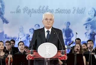 """Monito di Mattarella: """"Libertà e democrazia incompatibili con chi cerca sempre nemici"""""""