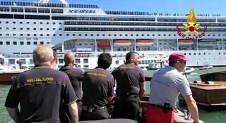 Scontro tra navi a Venezia, indagati pilota e comandante della nave