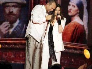 Un momento del concerto a Bari