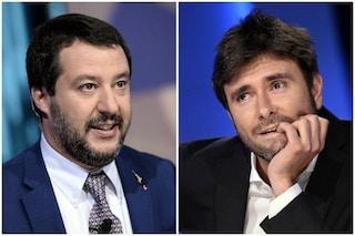 """Salvini: """"Stufo di attacchi Di Maio, Grillo, Toninelli. E Di Battista per me conta zero"""""""