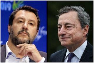 Tutti i passaggi del discorso di Mario Draghi che non saranno piaciuti a Matteo Salvini