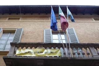 """Sassuolo, il neo-sindaco leghista rimuove lo striscione per Giulio Regeni: """"Non ha più senso"""""""