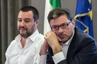 """Giancarlo Giorgetti e Matteo Salvini rilanciano i minibot: """"Sono una soluzione possibile"""""""