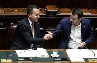 """Vertice tra Conte, Salvini e Di Maio dopo le elezioni: """"Tutto bene, il governo va avanti"""""""
