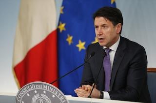 """Giuseppe Conte: """"Possibili ripercussioni negative per l'Italia dopo il voto della Lega in Ue"""""""
