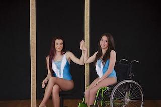 """Virginia, che non può camminare, ma diventa una ballerina: """"Ora insegno danza ai disabili"""""""