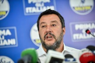 """Ex Ilva, Salvini: """"Da Conte, Di Maio e Renzi lacrime di coccodrillo, sono irresponsabili"""""""