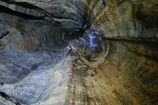 Calabria, salvati i quattro speleologi bloccati in una grotta nell'Abisso del Bifurto