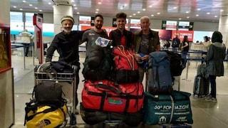 Travolti da valanga in Pakistan: i 4 alpinisti italiani sono salvi