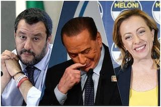 """Matteo Salvini di nuovo con Silvio Berlusconi: """"Alle elezioni con FI e Giorgia Meloni"""""""