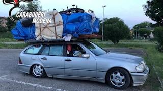Da Bari a Savona con una camera da letto, 4 bici, mezza cucina e un armadio sul tetto dell'auto