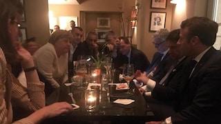 Conte, Macron e Merkel davanti a una birra: discutono delle nomine Ue fino alle 4 di notte