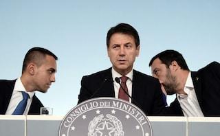 """Vertice fra Conte e i due vice, Salvini: """"Inutile tirarla per le lunghe se non cresciamo"""""""