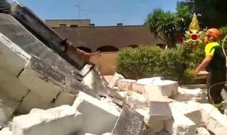 Lecce, esplosione in una casa vacanze di Porto Cesareo: gravi il proprietario e il nipote