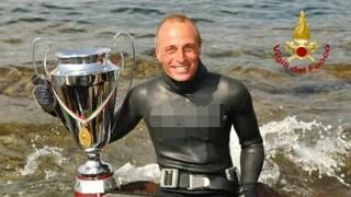 Muore durante un'immersione il quattro volte campione di pesca in apnea Bruno De Silvestri