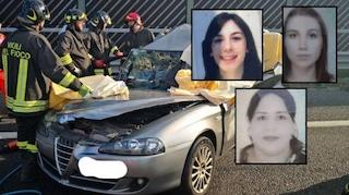 Tragedia sull'A1. Scontro tra auto e Tir: muoiono tre amiche, stavano andando in vacanza