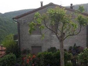 la casa dove viveva la donna