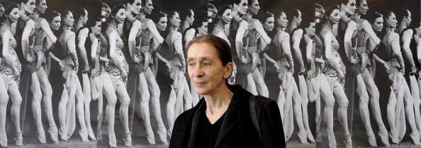 Una foto scattata a Pina Bausch nel 2008, un anno prima della morte, durante una conferenza stampa per il NRW Festival di Düsseldorf.