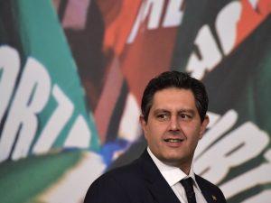 In foto: Giovanni Toti, presidente della regione Liguria ed esponente di Forza Italia.