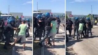"""Modena. Sindacalista aggredito dalla polizia durante lo sciopero: """"Mi hanno minacciato"""""""
