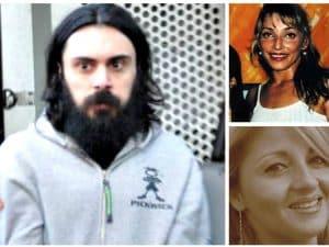 Luca Delfino, a sn, dall'alto Luciana Biggi e Maria Antonella Multari