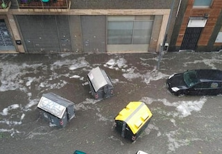 Meteo, grandine e nubifragi al Nord: a Torino temporale fa 1 morto, 15 feriti a Modena