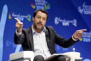 """Matteo Salvini torna all'attacco: """"Cinque Stelle e Pd? Già al governo insieme, per ora a Bruxelles"""""""