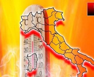 Ondata di caldo in arrivo sull'Italia, temperature fino a 40 gradi ma non mancano i temporali