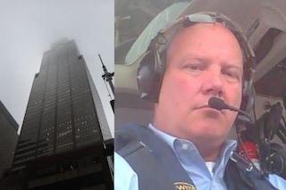 Elicottero contro grattacielo a New York, identificato il pilota: Tim era un veterano dei cieli