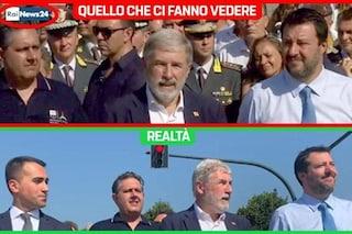 """Demolizione Ponte Morandi, l'accusa del Movimento 5 Stelle: """"La Rai ha oscurato Di Maio"""""""