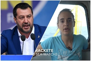 "Sea Watch, Salvini sfida Carola Rackete: ""Ci vediamo in Tribunale"""