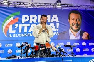 """Risultati elezioni comunali, Matteo Salvini: """"Abbiamo vinto dove la sinistra governava da 70 anni"""""""