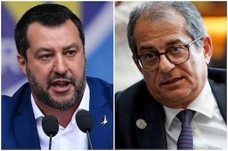 """Salvini contro Tria: """"Non mi pagano per dire sì padrone alla Ue. Avanti con programma di governo"""""""