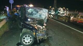 Sibari, scontro frontale sulla strada statale 534: 2 morti e 2 feriti. Coinvolta una famiglia