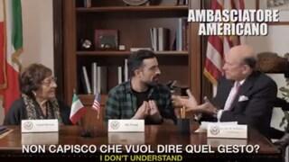 """""""I consigli agli americani in Italia"""": nel video di Casa Surace c'è anche l'ambasciatore Usa"""